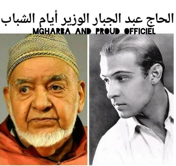 صورة عبد الجبار الوزير وهو شاب تشعل مواقع التواصل الاجتماعي..لن تصدقوا جماله