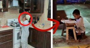 استهزوا بالطفل لأن أمه تعمل خادمة...لن تتخيلوا من هو هذا الطفل اليوم!!!