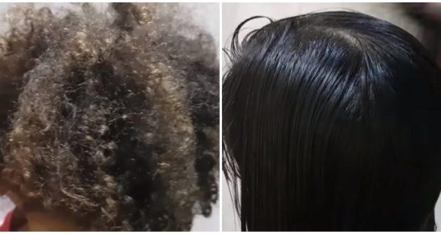 هاد الوصفة عطاتني نتيجة متوقعتهاش من اول تجربة كترجع الشعر لامع ورطب حريييير