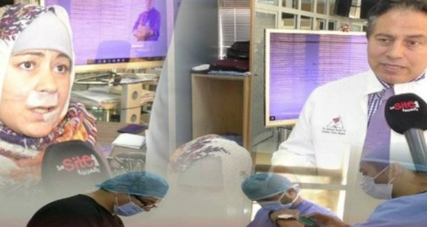 """أخيييرا...الدكتور الحسن التازي يلبي نداء الفتاة """"المشرملة"""" و هذا ما قام به لاخفاء ندوبها"""