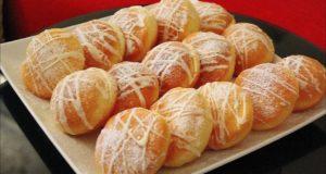 الفطائر الحلوة التي يعشقها الجميع بكريمة رائعة هشة وخفيفة بدون فرن وبمكونات بسيييطة وكمية وفيرة