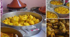 أسرار تحضير الدجاج الكروازي أو الطاوسي بطريقة المناسبات من يد طباخة محترفة