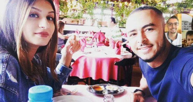 زوجة هشام مسرار تخطف الانظار في اول ظهور لها بعد الولادة