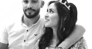 كوبل لالة العروسة كوثر وعبد الرحمان يفقدان طفلهما الاول