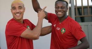 لاعب المنتخب الوطني حمزة منديل يكشف لأول مرة عن هوية خطيبته المغربية