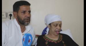 بعد 14 سنة من رعاية زوجته يروي بالدموع:لن أتخلى عنها حتى تدفنني أو أدفنها