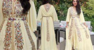 أجيو تشوفو كيفاش وجدت لعرس مغربي بقفطان اخر موديل و مكياج رااائع