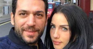بعد غياااب..إيمان الباني تتألق بإطلالة حمراء ساحرة رفقة زوجها الممثل التركي مراد يلدريم