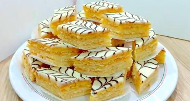حلوى الدراويش للعيد ببيضتين فقط و بكمية وفيرة و بشكل راقي جدا