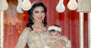 دنيا بطمة تحتفل بعيد ميلاد غزل في أفخم فنادق الدار البيضاء