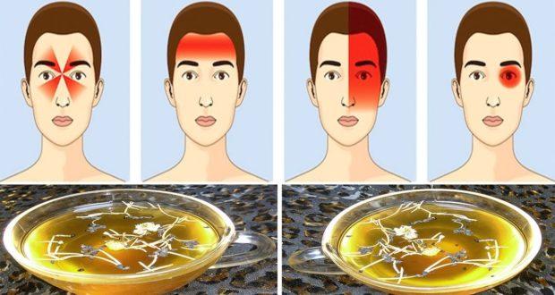 وصفة لعلاج صداع الرأس أو الصداع النصفي دقة ببطلة