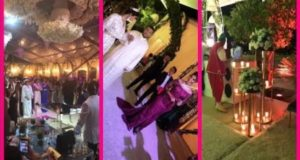 شاهدوا فخامة العرس المغربي الخرافي الذي أحيته دنيا بطمة بالرباط