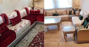آخر دفعة من الصالونات المغربية لسنة 2018 ثوب رفيع وجودة عالية