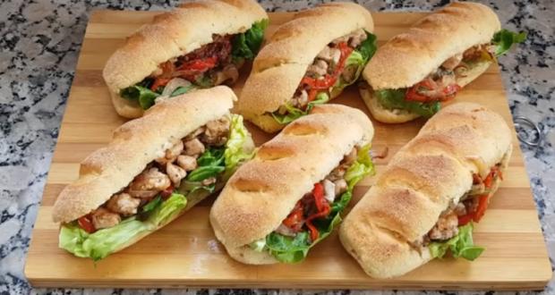 سندويتشات رائعة للوجبات المدرسية بميني باكيط خفيف بحال القطن
