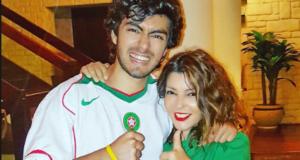 شادي ابن الفنانة سميرة سعيد يخطف الانظار بوسامته في اخر ظهور