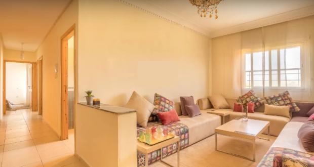 نموذج لشقة مغربية في السكن الإقتصادي..فكرة ذكية لاستغلال مساحة الشقة بشكل ذكي رغم صغرها