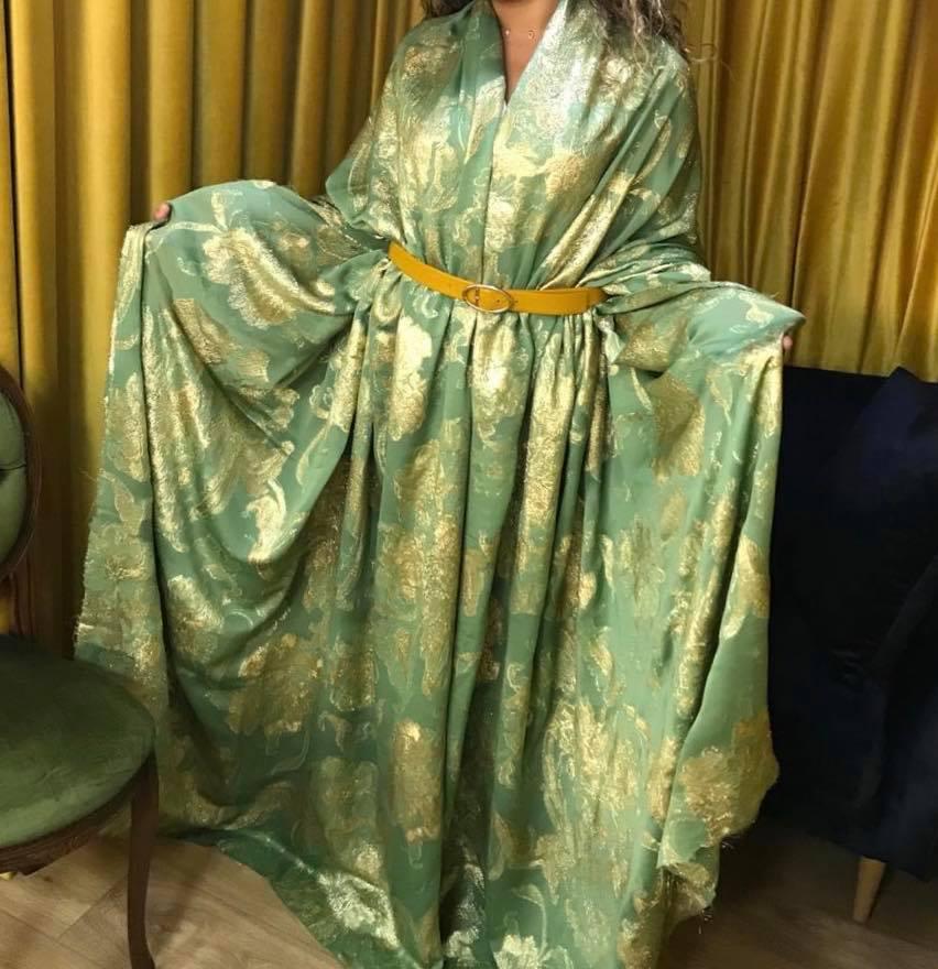 الجديييد..شكيلات غزالة من اثواب البروكار نالت اعجاب العديد من السيدات
