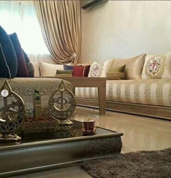 تشكيلة متولة من الصالونات المغربية بخشب متقون وتلميطة جديدة