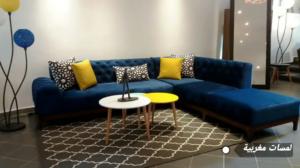 أشيك غرف الجلوس المغربية بموضة 2018 بألوان جد أنيقة