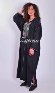 اخر موديلات الجلابة المغربية من Zyeena لشتاء 2019