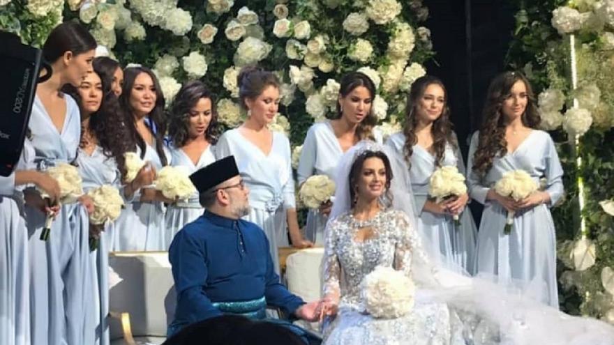 بعد إشهار إسلامها.. ملك ماليزيا يتزوج ملكة جمال روسيا