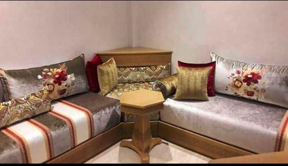صالونات مغربية متولة آخر ما بان فالسوق تلميطة جديدة وخشب من داكشي الرفيع