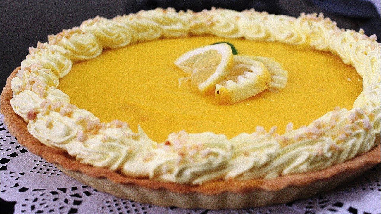 أرقى أسهل وألذ طارط بالليمون بطريقة المخبزات بدون مورانغ من مطبخ حليمة الفيلالي