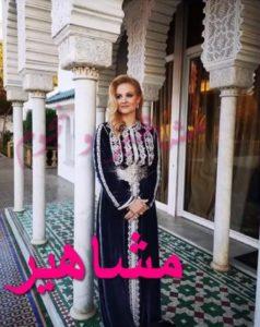 الأميرة لالة أنيسة زوجة الأمير مولاي اسماعيل باطلالة مغربية راائعة و مكياج ملفت