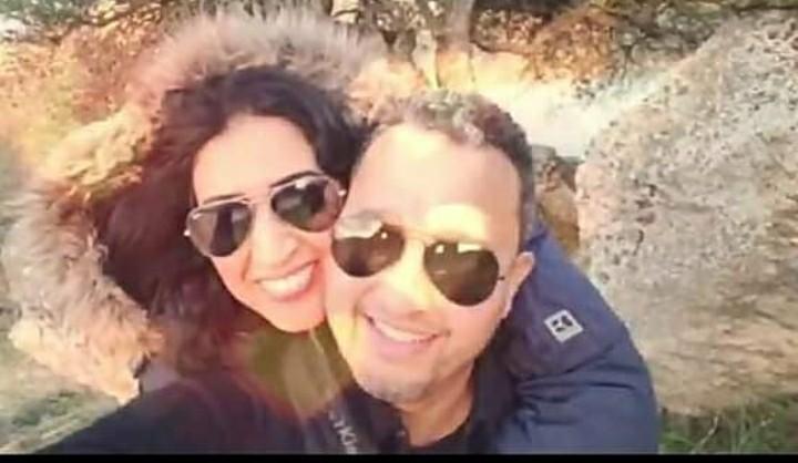 بالصور.. أول ظهور لدنيا بوتازوت رفقة زوجها بعد عقد القران