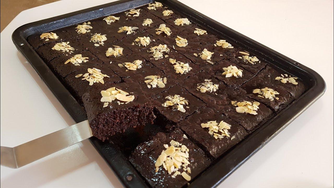 حلوى الكيك الخطيرة الرائعة ب3 كؤوس دقيق تعطي 35 قطعة لذة لاتقاوم